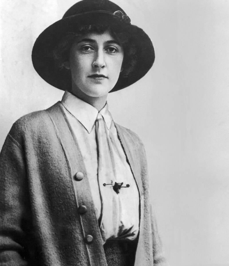 Portrait Of Agatha Christie