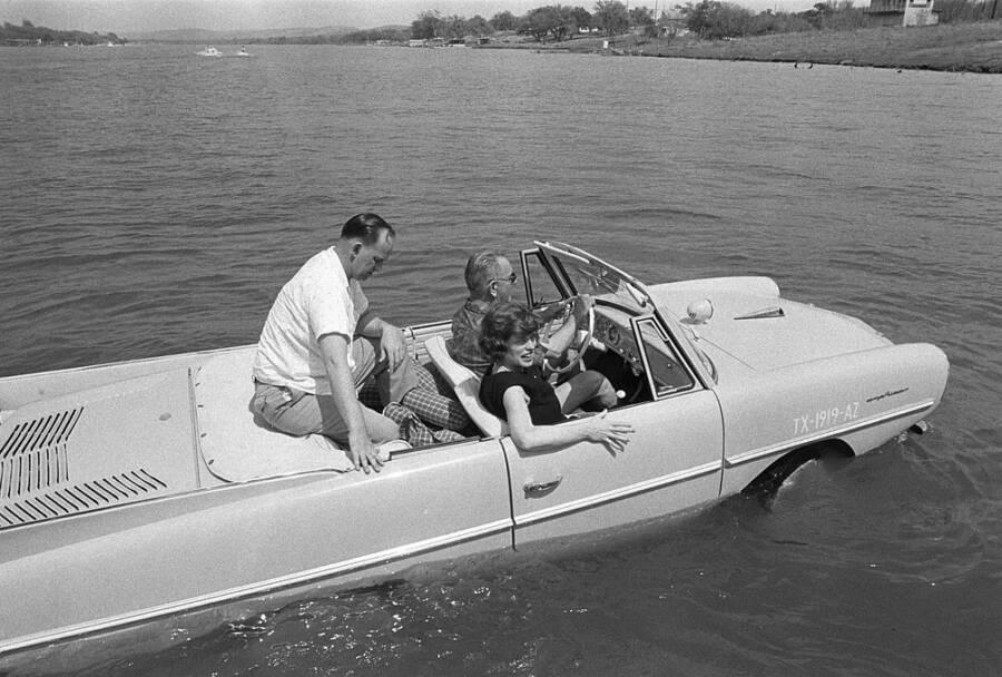 President Johnson's Amphicar
