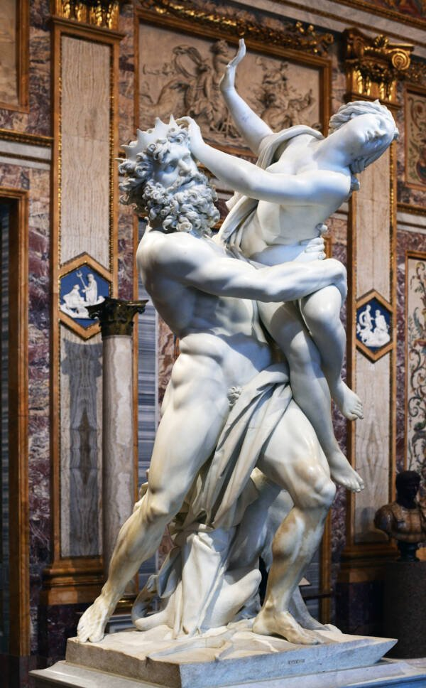 Rape Of Proserpina Bernini