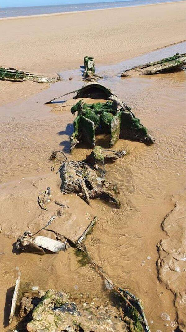 Royal Air Force Fighter Plane Wreckage