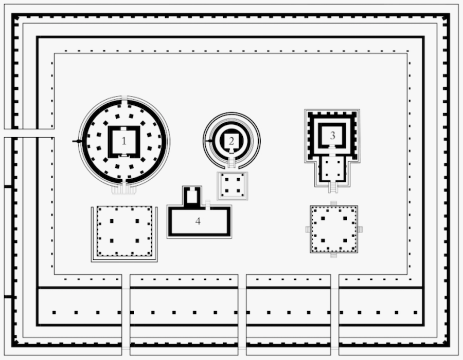 Sanctum Sanctorum Layout Of Indian Temples