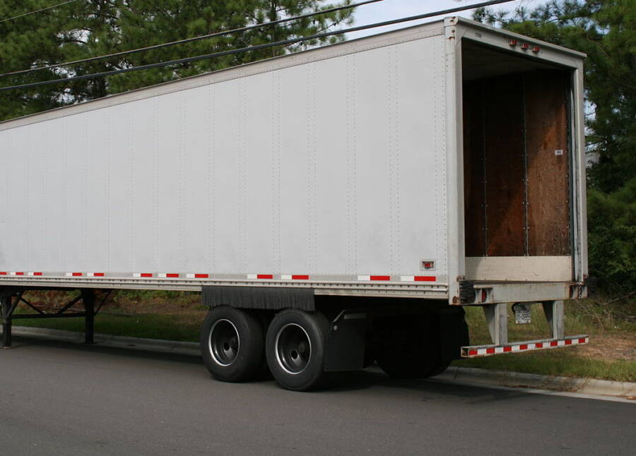 Semi Truck Back