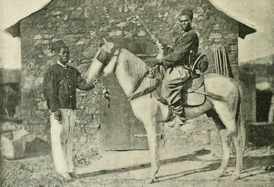 Senegalese Tirailleur And Spahi