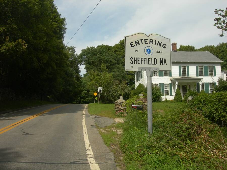 Sheffield Town Sign