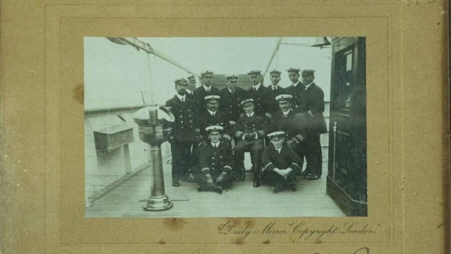 Titanic Officers Aboard The Carpathia