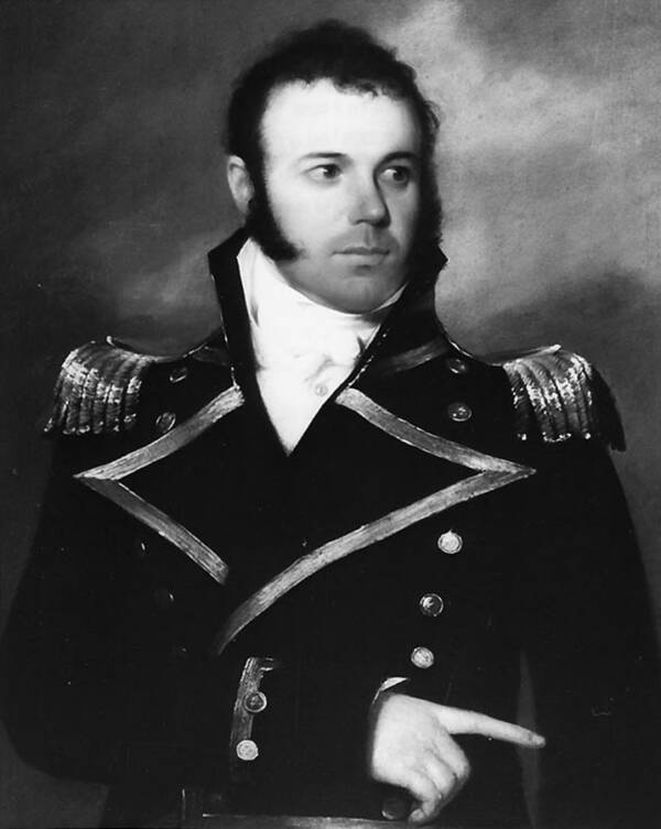 U.S. Commodore Daniel Patterson