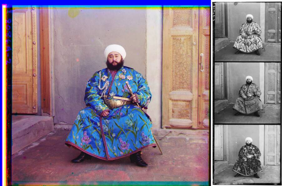 Alim Khan Color Process