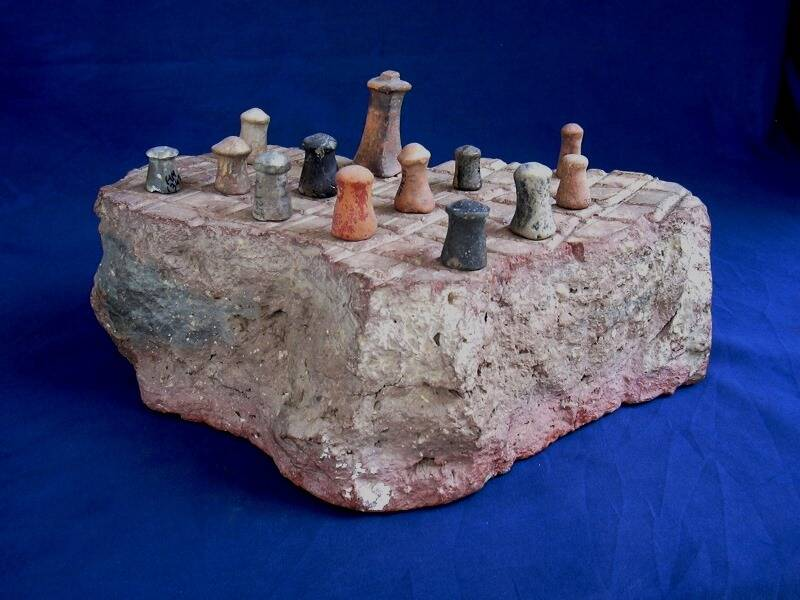 Ancient Chess Board