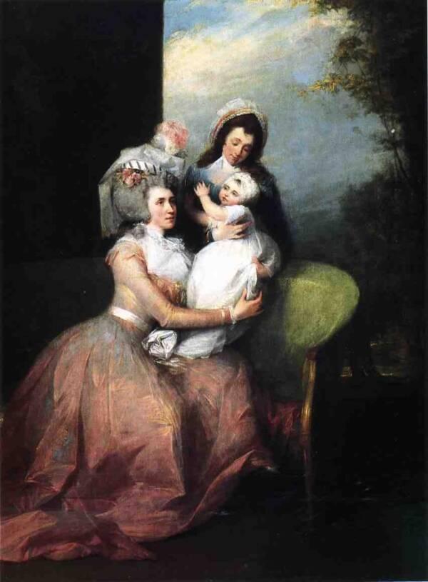 Angelica Schuyler By John Trumbull