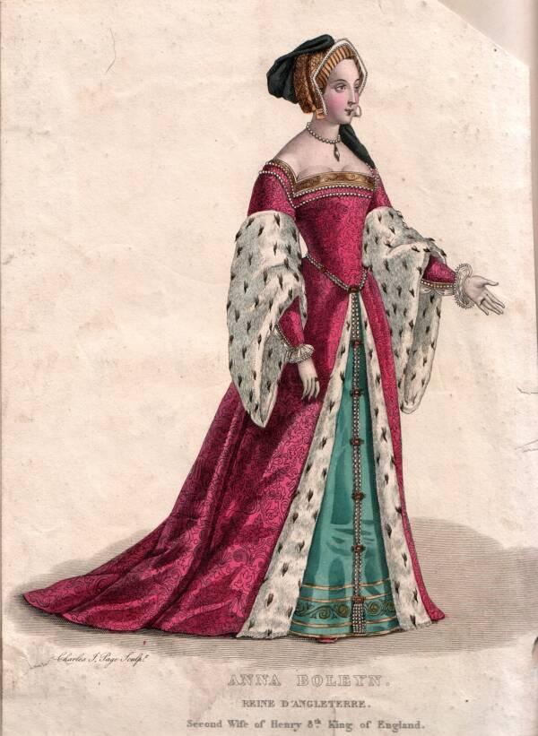 Anne Boleyn Full Body Portrait