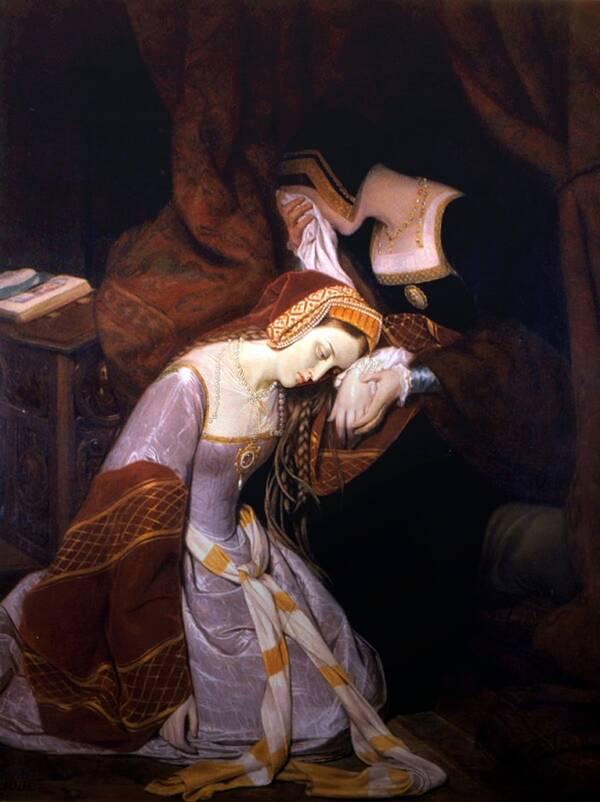 Anne Boleyn Awaiting Her Execution