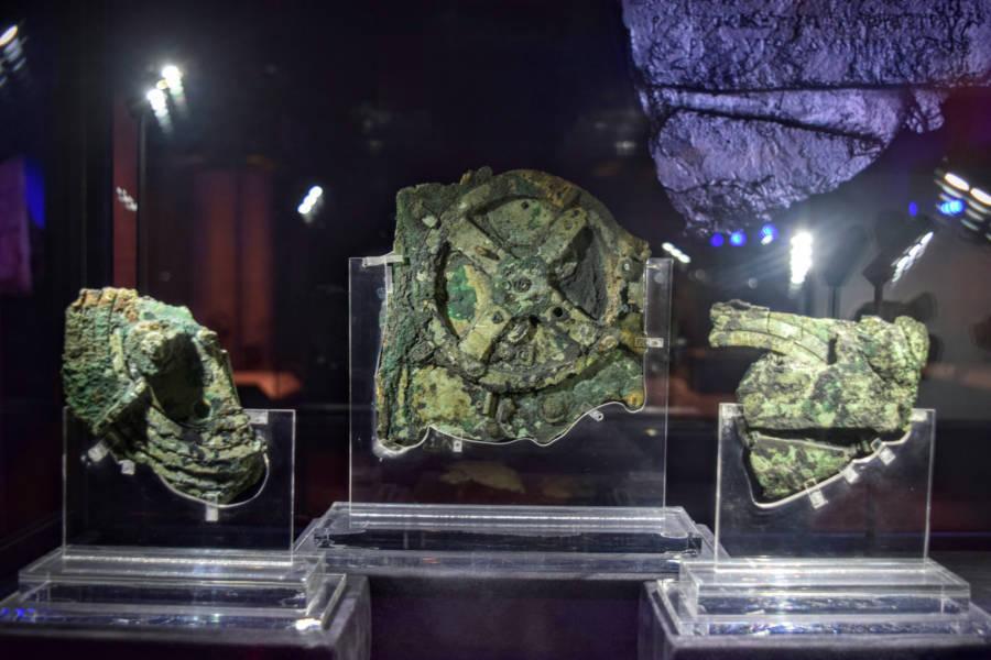 Antiktheyra Mechanism Display