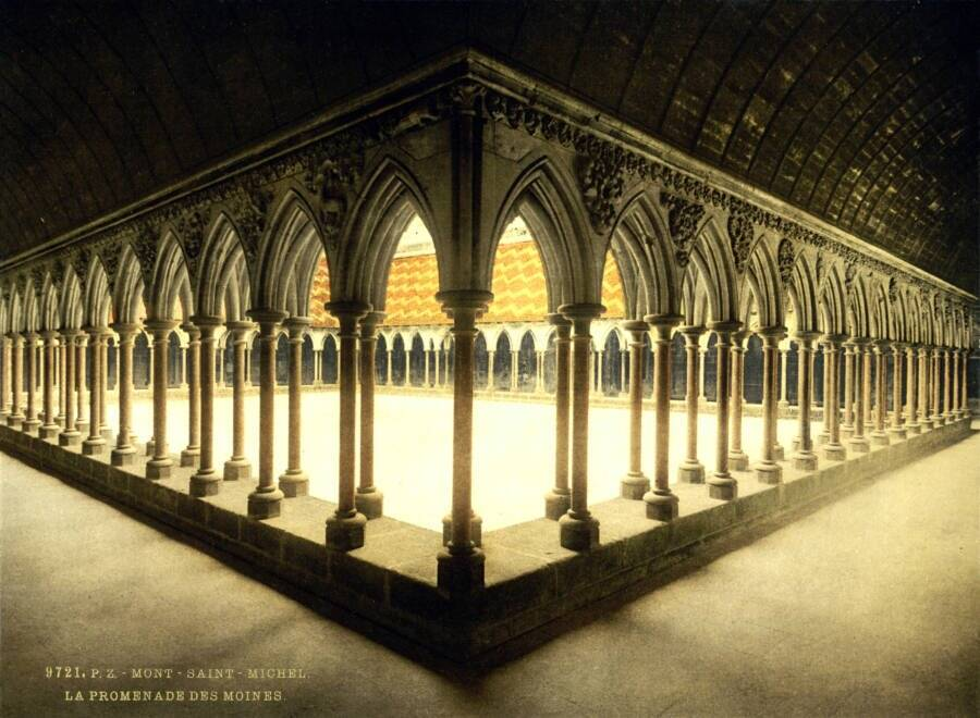 Cloister Normandy France