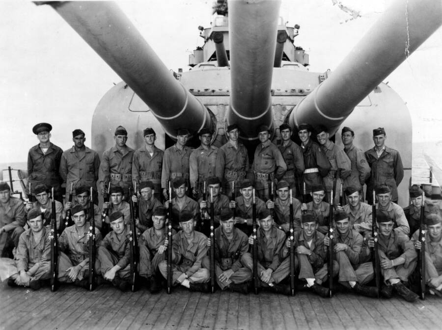 Crew Of The USS Indianapolis