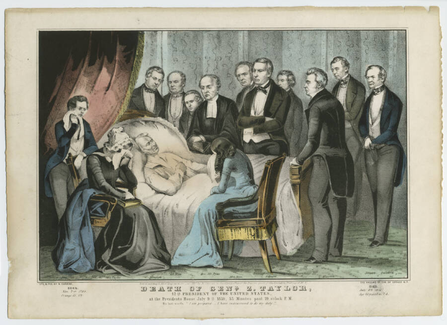 Death Of Zachary Taylor