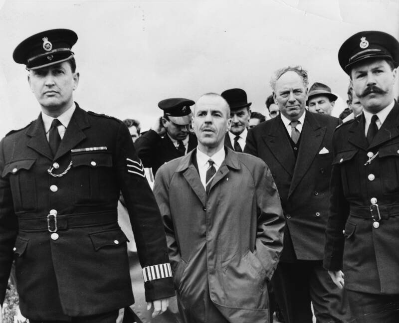 Greville Wynne Escorted By Police