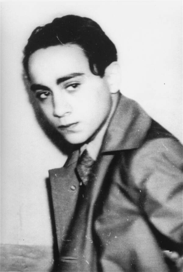 Grynszpan After His Arrest