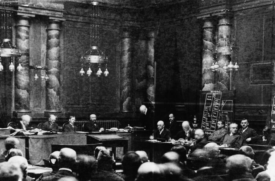Haarmann At Trial