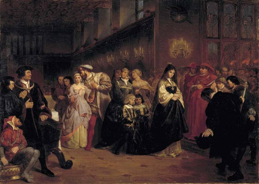 The English Court Under Henry VIII