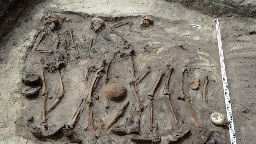 Nazi Remains In Kozlice