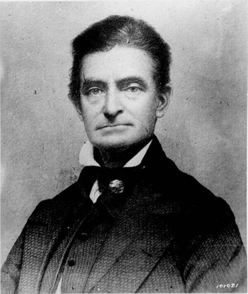 John Brown Daguerreotype Engraving