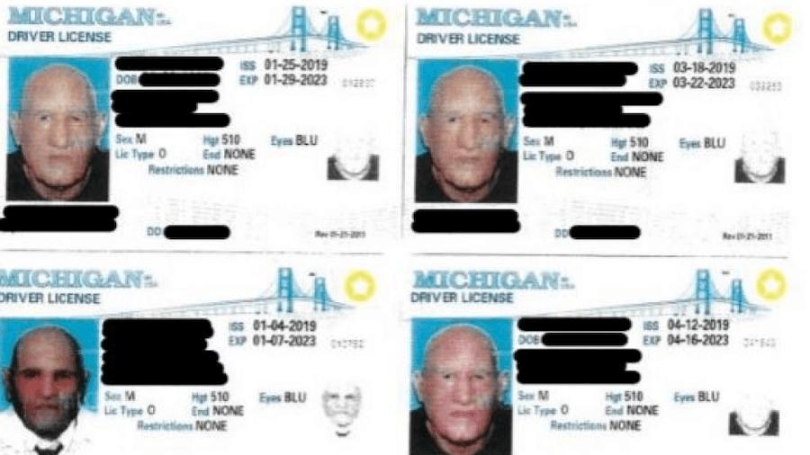 John Colletti Counterfeit Licenses