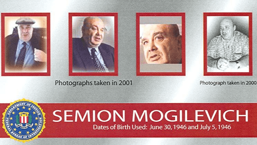 Justice Department Photos Of Semion Mogilevich