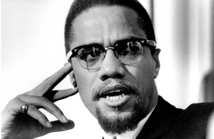 Malcolm X Closeup
