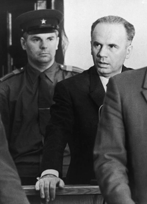 Oleg Penkovsky Hearing His Trial Verdict