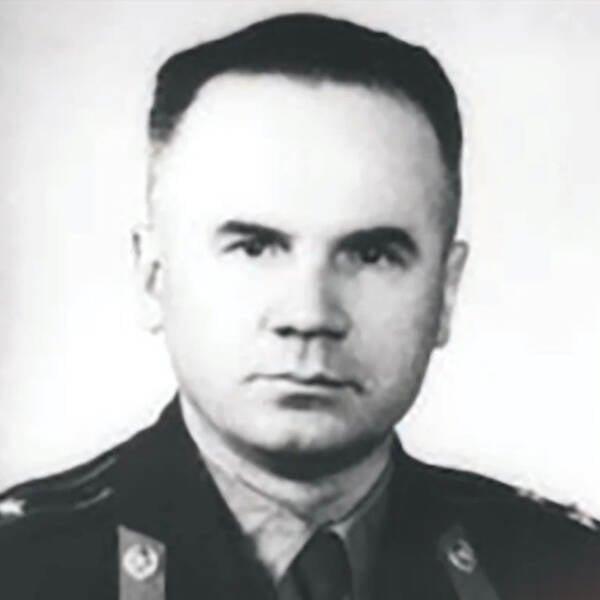 Oleg Penkovsky In Uniform