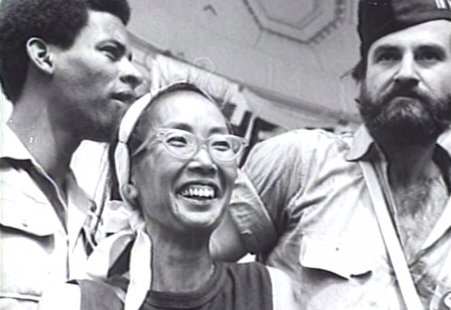 Rights Activist Yuri Kochiyama