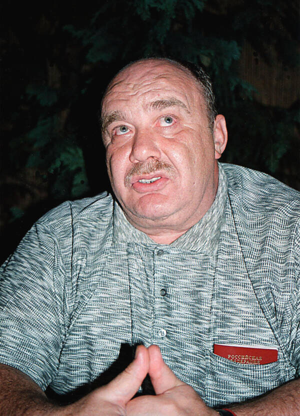 Semion Mogilevich Looking Up