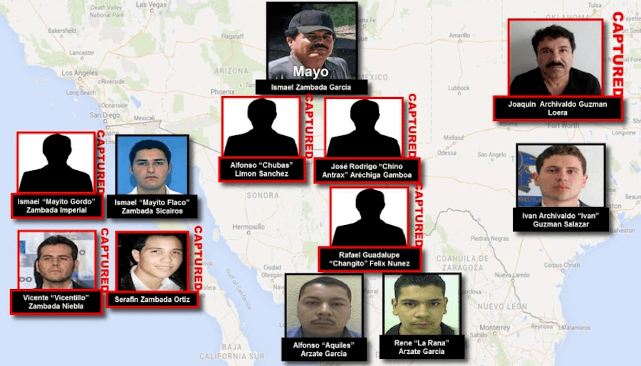 Sinaloa Cartel Members
