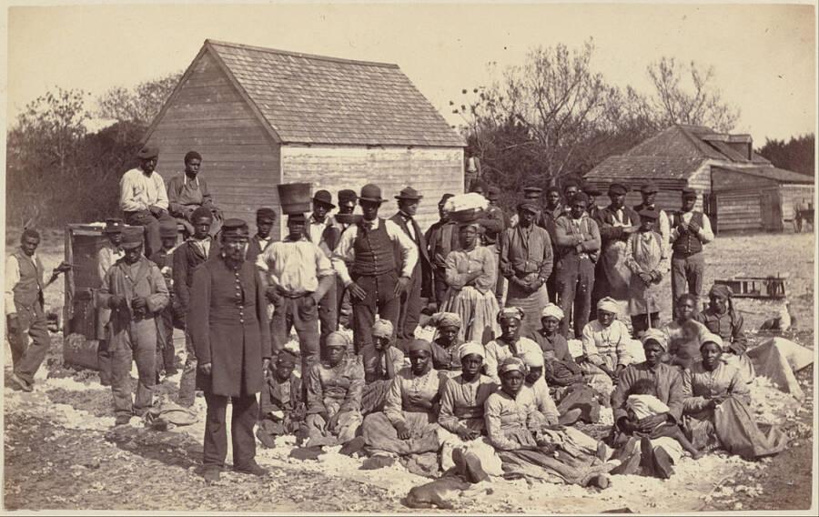 Esclaves du général Thomas Drayton