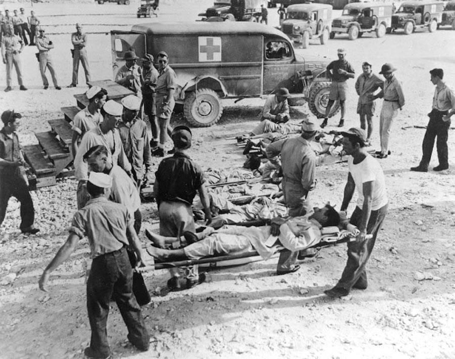 Uss Indianapolis Survivors In Guam