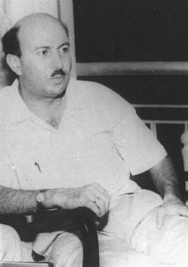 Wadie Haddad Seated