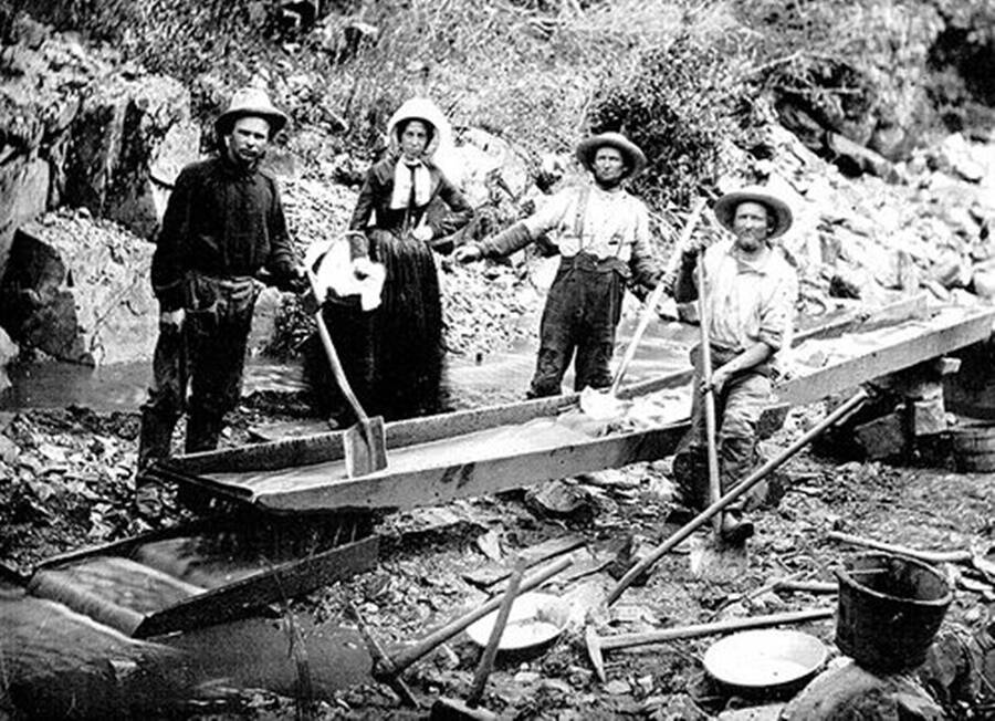 Workers During Gold Rush