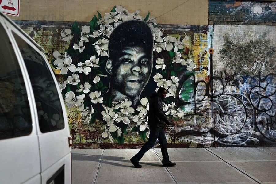 Yusuf Hawkins Mural