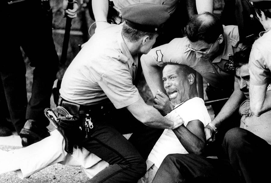 Protestors In Brooklyn