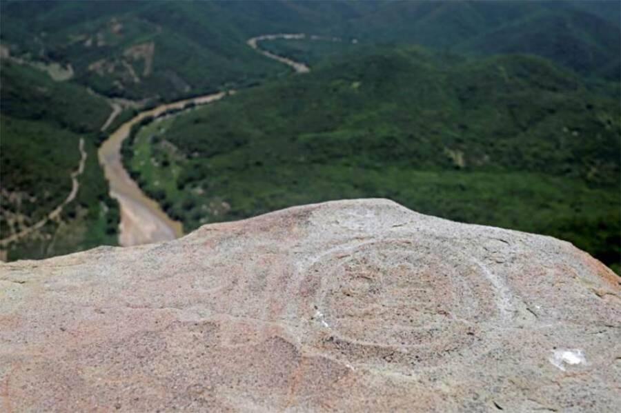 Zapotec Ruins On Cerro De Pena