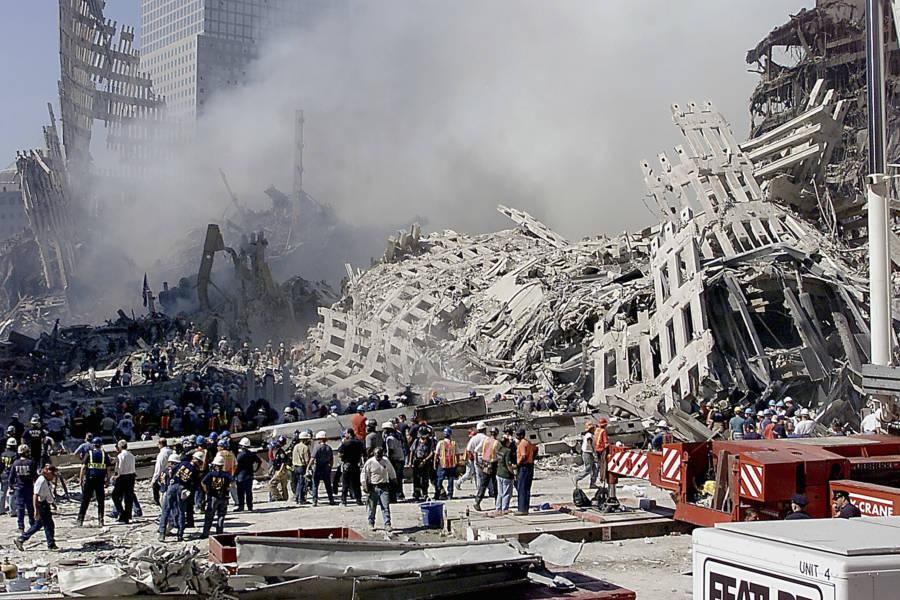 September 11th Rubble