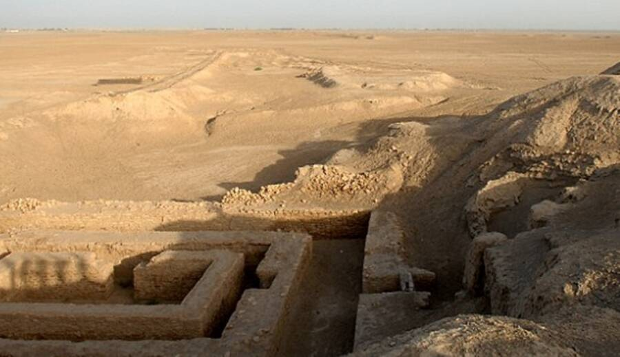 Ancient City Of Uruk