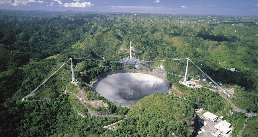 Famous Alien-Hunting Telescope In Puerto Rico Mysteriously Damaged Overnight