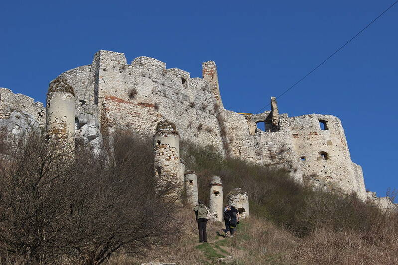 Ascent To Spiš Castle
