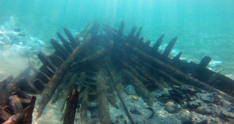 Archaeologists Uncover 'Beautifully Conserved' 1,300-Year-Old Shipwreck Off The Coast Of Israel