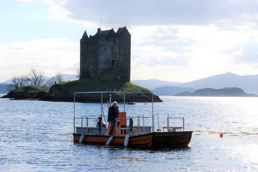 Castle Stalker Island