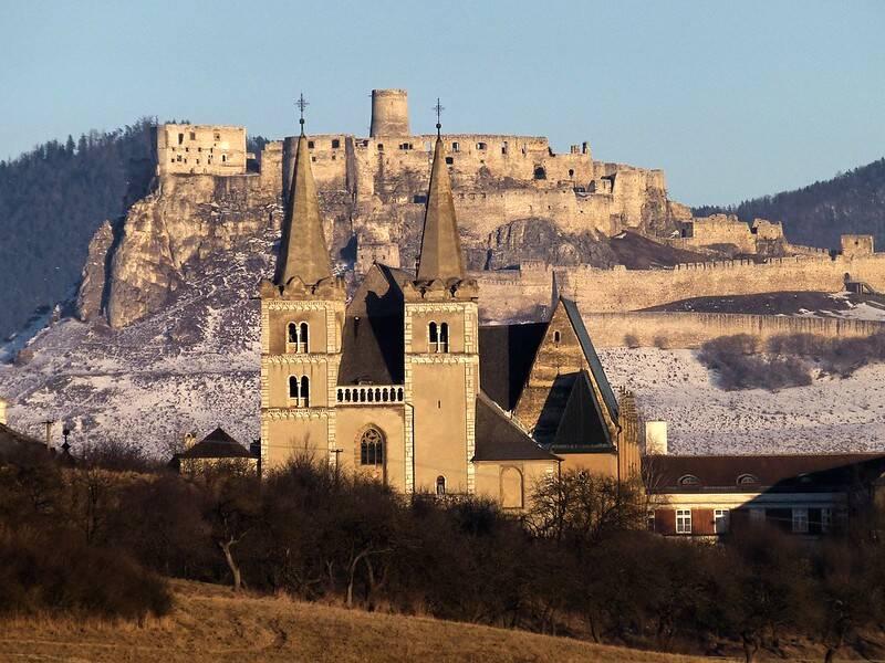 Church Near Spiš Castle