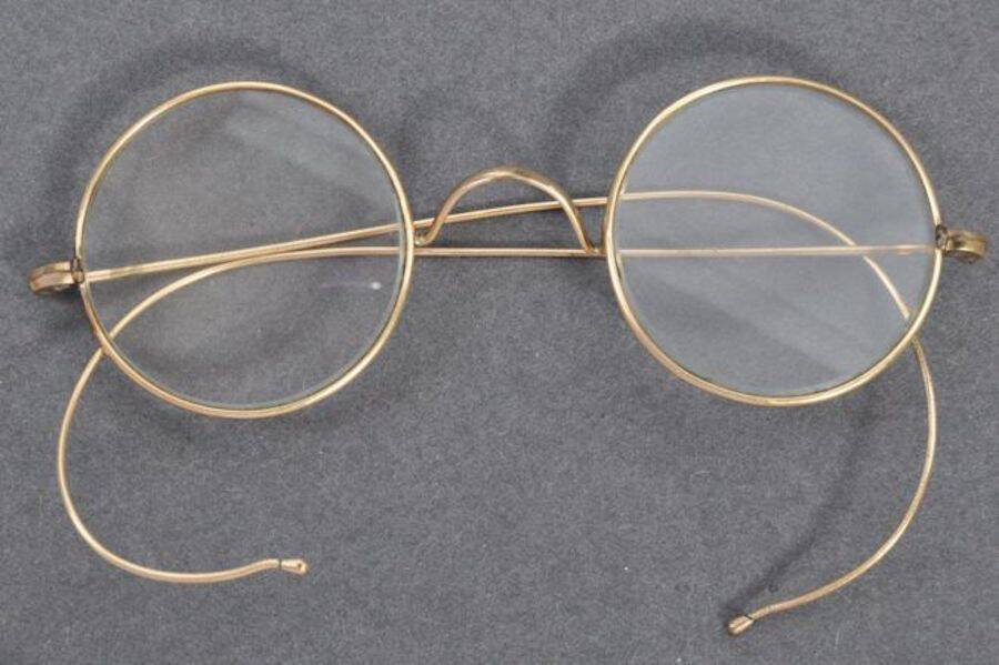 Glasses Belonging To Gandhi