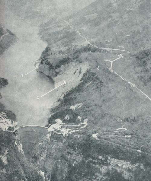 Initial Vajont Landslide