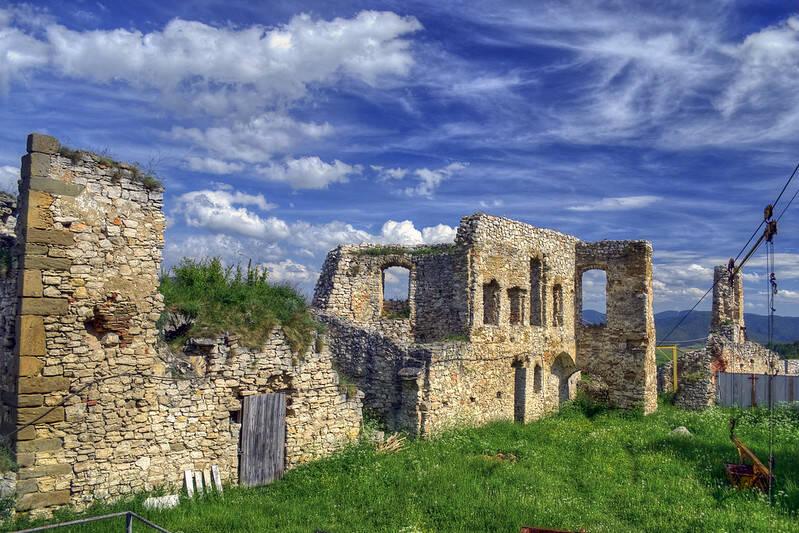Inside Spiš Castle